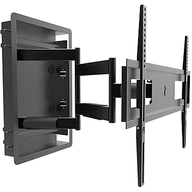 Kanto R500 Recessed InWall Full Motion TV Mount for 46inch to 80inch TVs