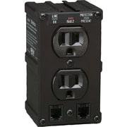 Tripp Lite Isobar Surge Protector Wall Mount Direct Plug In 2 Outlet RJ11