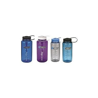 Nalgene 32oz Wide-Mouth Sports Bottle, Family Pack, Assorted Colours, 4/Pack