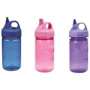Nalgene Grip-N-Gulp Sports Bottle, Purple/Blue/Pink, 3/Pack