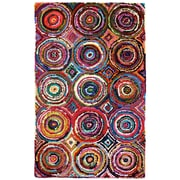 Anji Mountain Tangier Multi-coloured Area Rug Bamboo Multi (AMB1001-0046)