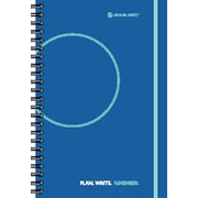 "2014 AT-A-GLANCE® Paisley Exclusive Desk Two Days Per Page Planning Notebook, 6"" x 9"""