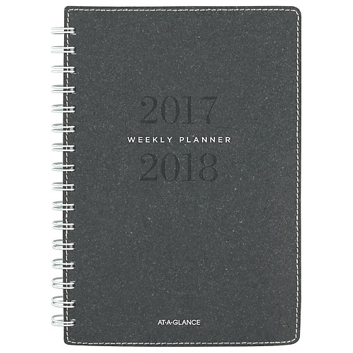 2017 2018 at a glance 5 3 8 x 8 1 2 signature collection academic