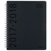 "2017-2018 AT-A-GLANCE®  8 1/2"" x 11"" Contempo Academic Wkly/Mnthly Appt Book/Planner, 12 Months July Start Black (70-957H-00-18)"