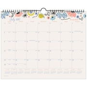 "2017-2018 AT-A-GLANCE® 15"" x 12"" Claire Academic Monthly Wall Calendar, 12 Months July Start Wirebound (W1014-707A-18)"
