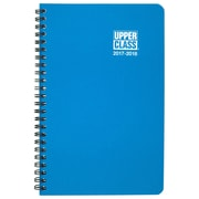 "2017-2018 Upper Class® 5 3/8"" x 8 5/16"" Student Weekly/Monthly Planner, 12 Months August Start Assorted Colors (TL8190-10-18)"