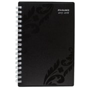 "2017-2018 AT-A-GLANCE® 4 3/8"" x 6 1/4"" Madrid Academic Weekly/Monthly Appt Book/Planner, 12 Month July Start Black (793-300A-18)"