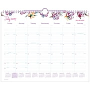"2017-2018 AT-A-GLANCE® 15"" x 12"" Academic Monthly Wall Calendar, July 2017 - June 2018  Wirebound June Design (W1012-707A-18)"
