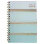 "2017-2018 AT-A-GLANCE® 4 7/8"" x 8"" Ombre Academic Weekly/Monthly Planner, 12 Months July Start Mint (1026-200A-18)"
