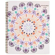 "2018 AT-A-GLANCE® 8 1/2"" x 11"" Sun Dance Weekly/Monthly Planner, 12 Months January Start Multicolor (1051-905-18)"