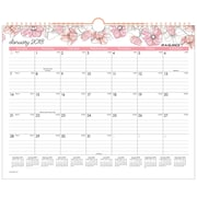 "2018 AT-A-GLANCE® 15"" x 12"" Monthly Wall Calendar, January 2018-December 2018 Wirebound Blush (W1041-707-18)"