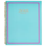 "2018 AT-A-GLANCE® 8 1/2"" x 11"" Color Crush Weekly/Monthly Planner, 12 Months January Start Teal (6046-905-42-18)"
