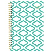 "2018 AT-A-GLANCE 4 7/8"" x 8"" Weekly / Monthly Planner, January 2018 - December 2018 Teal Geos (135T-200-18)"