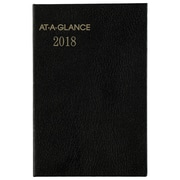 "2018 AT-A-GLANCE® Fine Diary® 2 3/4"" x 4 1/4"" Weekly/Monthly Pocket Diary, 12 Months January Start Assorted Colors (72-01-00-18)"
