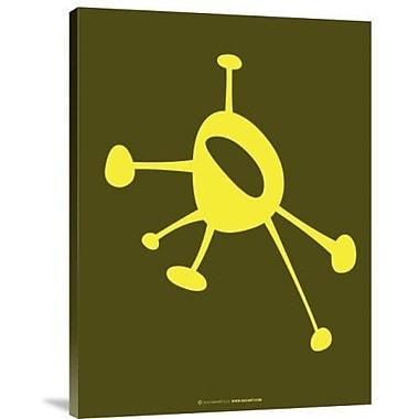 Naxart 'Funny Shape Purk 2' Graphic Art Print on Canvas; 24'' H x 18'' W x 1.5'' D
