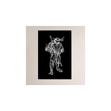 Naxart 'Turtle Donatello 2' Framed Graphic Art Print on Canvas; 38'' H x 26'' W x 1.5'' D