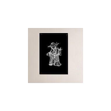 Naxart 'Yoda 2' Framed Graphic Art Print on Canvas; 32'' H x 22'' W x 1.5'' D