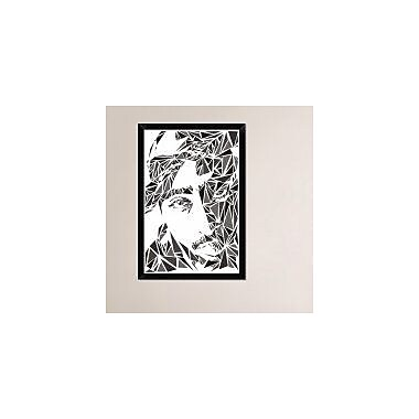 Naxart '2 Pack' Framed Graphic Art Print on Canvas; 32'' H x 22'' W x 1.5'' D