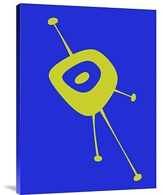 Naxart 'Funny Shape Comet 2' Graphic Art Print on Canvas; 40'' H x 30'' W x 1.5'' D