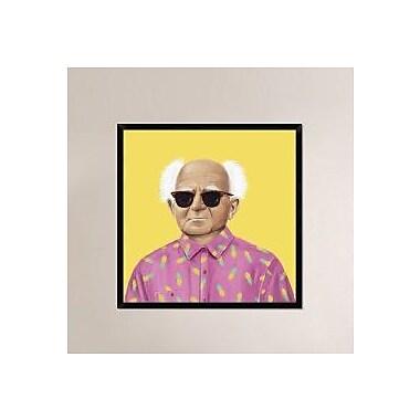 Naxart 'David Ben-Gurion' Framed Painting Print on Canvas; 38'' H x 38'' W x 1.5'' D