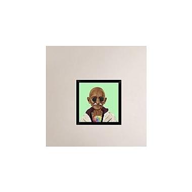 Naxart 'Mahatma Gandhi' Framed Graphic Art Print on Canvas; 20'' H x 20'' W x 1.5'' D