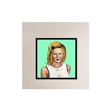Naxart 'Margaret Thatcher' Framed Painting Print on Canvas; 26'' H x 26'' W x 1.5'' D