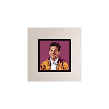 Naxart 'Regan' Framed Painting Print on Canvas; 26'' H x 26'' W x 1.5'' D