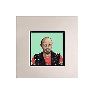 Naxart 'Vladimir Lenin' Framed Painting Print on Canvas; 32'' H x 32'' W x 1.5'' D