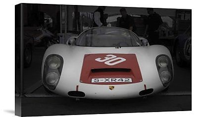 Naxart 'Racing Ready' Photographic Print on Canvas; 24'' H x 36'' W x 1.5'' D