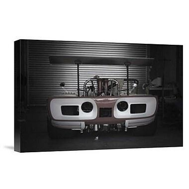 Naxart 'Racing Garage' Photographic Print on Canvas; 12'' H x 18'' W x 1.5'' D