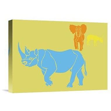 Naxart 'Safari 2' Graphic Art Print on Canvas; 30'' H x 40'' W x 1.5'' D
