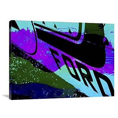 Naxart 'Ford Racing' Graphic Art Print on Canvas; 24'' H x 32'' W x 1.5'' D