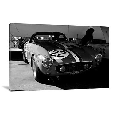 Naxart 'Ferrari in the Pit 2' Photographic Print on Canvas; 20'' H x 30'' W x 1.5'' D
