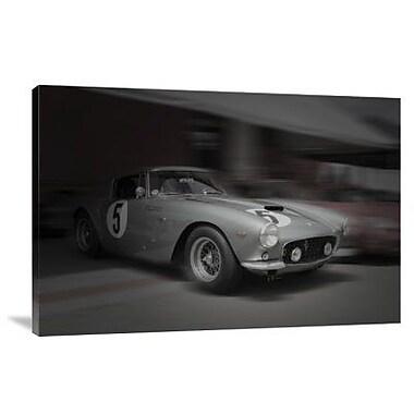 Naxart 'Ferrari 250 GTB Before the Race' Photographic Print on Canvas; 20'' H x 30'' W x 1.5'' D