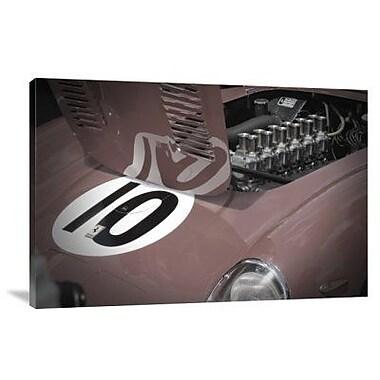 Naxart 'Ferrari Open Hood' Photographic Print on Canvas; 24'' H x 36'' W x 1.5'' D