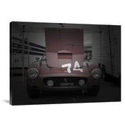 Naxart 'Ferrari Front Open Hood' Photographic Print on Canvas; 12'' H x 16'' W x 1.5'' D