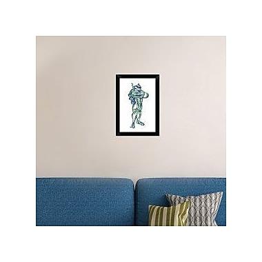 Naxart 'Turtle Leonardo' Framed Graphic Art Print on Canvas; 20'' H x 14'' W x 1.5'' D
