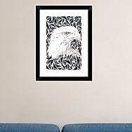 Naxart 'Aquila' Framed Graphic Art Print; 24'' H x 18'' W x 1.5'' D