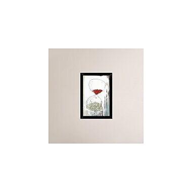 Naxart 'The fall' Framed Graphic Art Print on Canvas; 20'' H x 14'' W x 1.5'' D