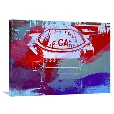 Naxart 'Le Mans Racer During Pit Stop' Graphic Art Print on Canvas; 12'' H x 16'' W x 1.5'' D