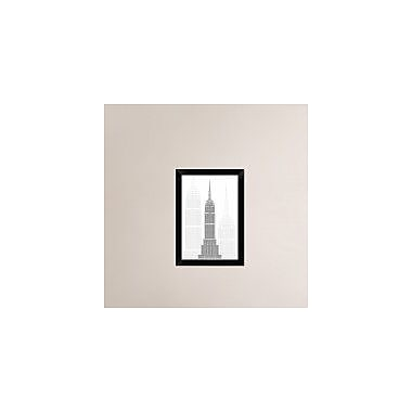 Naxart 'Manhattan' Framed Graphic Art Print on Canvas; 20'' H x 14'' W x 1.5'' D