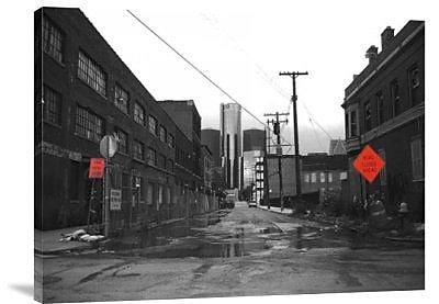 Naxart 'Road to GM Headquarters' Photographic Print on Canvas; 18'' H x 24'' W x 1.5'' D