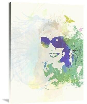 Naxart 'Sunshine' Graphic Art Print on Canvas; 32'' H x 24'' W x 1.5'' D