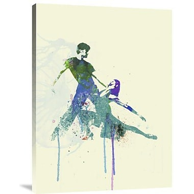 Naxart 'Tango Couple' Graphic Art Print on Canvas; 24'' H x 18'' W x 1.5'' D
