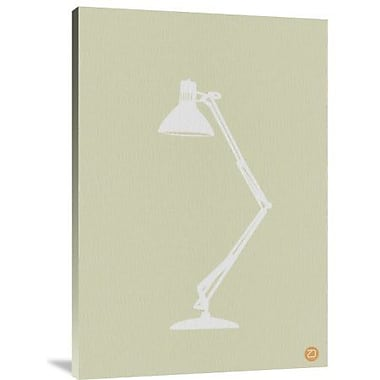 Naxart 'Lamp' Graphic Art Print on Canvas; 36'' H x 25'' W x 1.5'' D