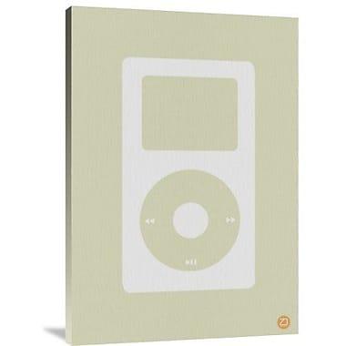 Naxart 'iPod' Graphic Art Print on Canvas; 40'' H x 28'' W x 1.5'' D