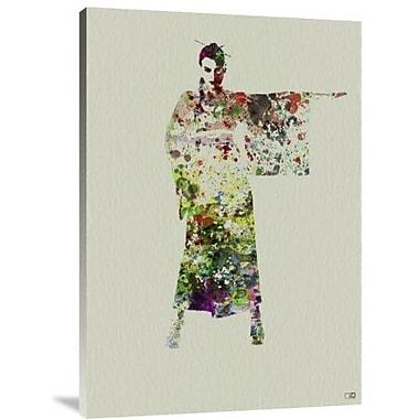 Naxart 'Kimono Dancer 4' Graphic Art Print on Canvas; 22'' H x 15'' W x 1.5'' D