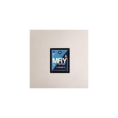 Naxart 'MRY Monterey Luggage Tag II' Framed Graphic Art Print on Canvas; 18'' H x 14'' W x 1.5'' D