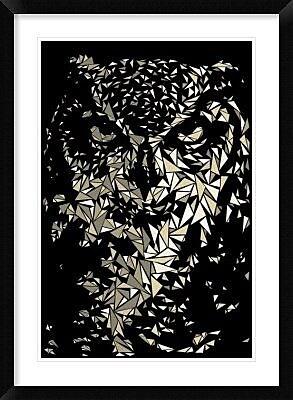 Naxart 'Owl' Framed Graphic Art Print; 42'' H x 30'' W x 1.5'' D