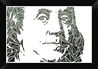 Naxart 'Benjamin Franklin' Framed Graphic Art Print on Canvas; 14'' H x 20'' W x 1.5'' D